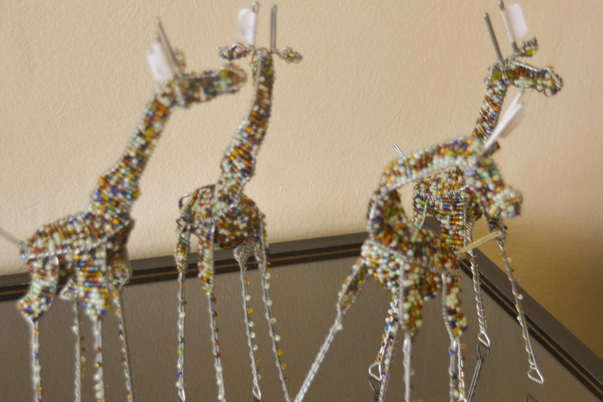 WIRE AND BEAD ANIMALS